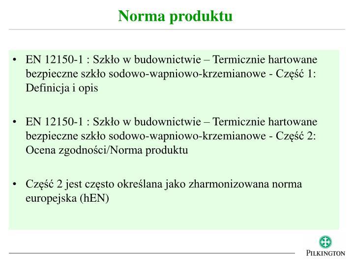 Norma produktu