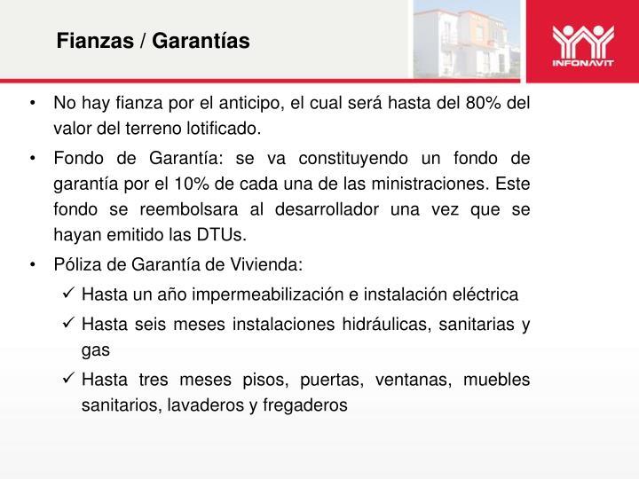 Fianzas / Garantías