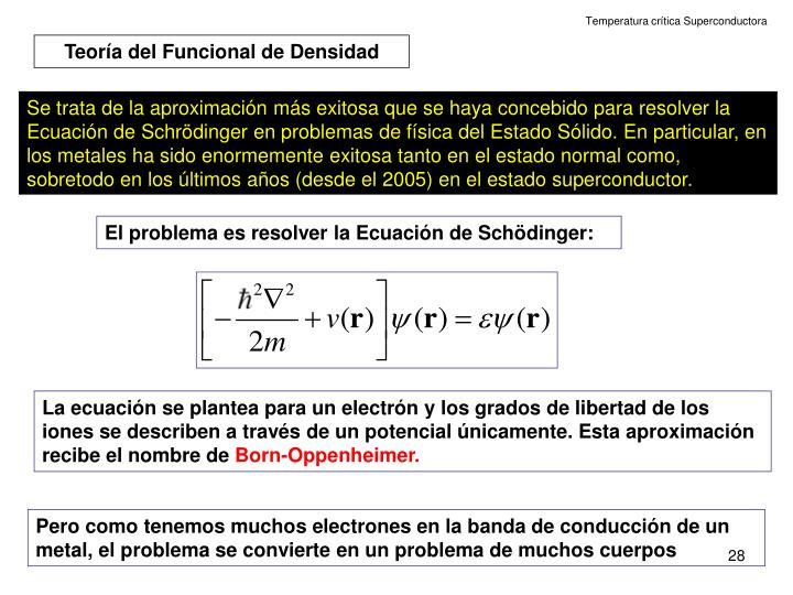 Temperatura crítica Superconductora