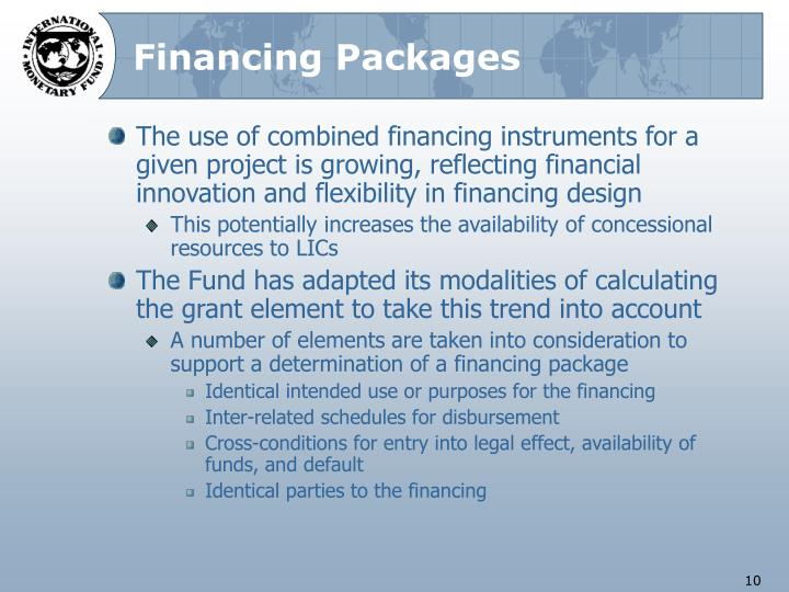Financing Packages