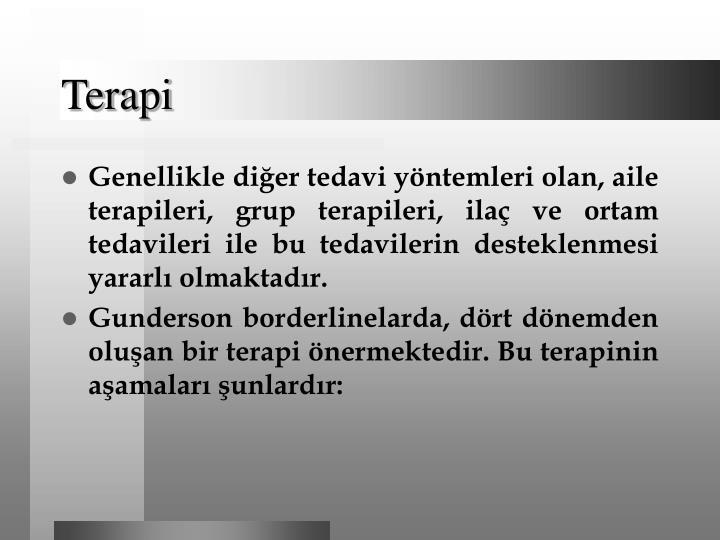 Terapi