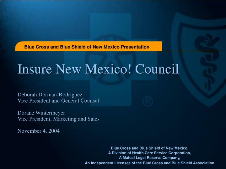 Insure New Mexico! Council