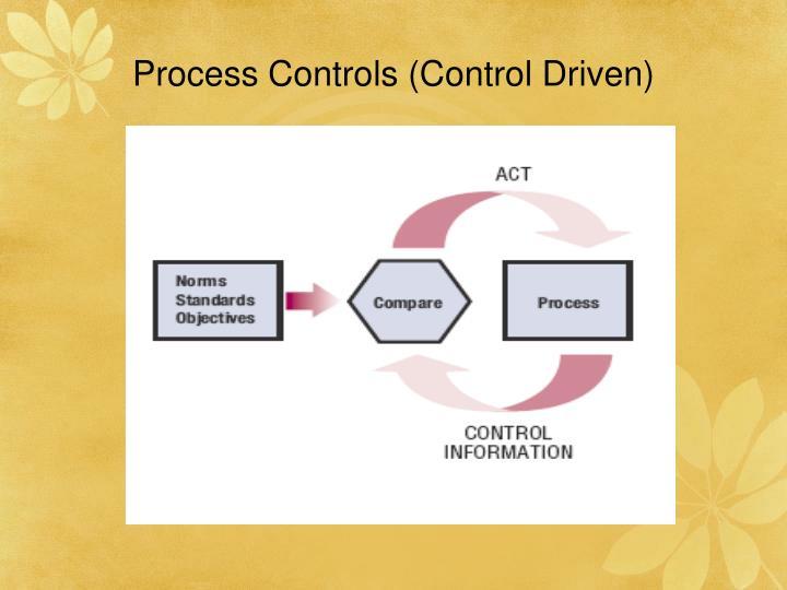 Process Controls (Control Driven)
