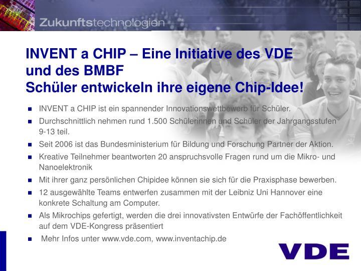 INVENT a CHIP – Eine Initiative des VDE