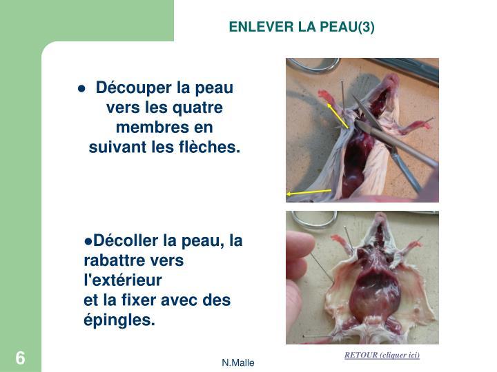 ENLEVER LA PEAU(3)