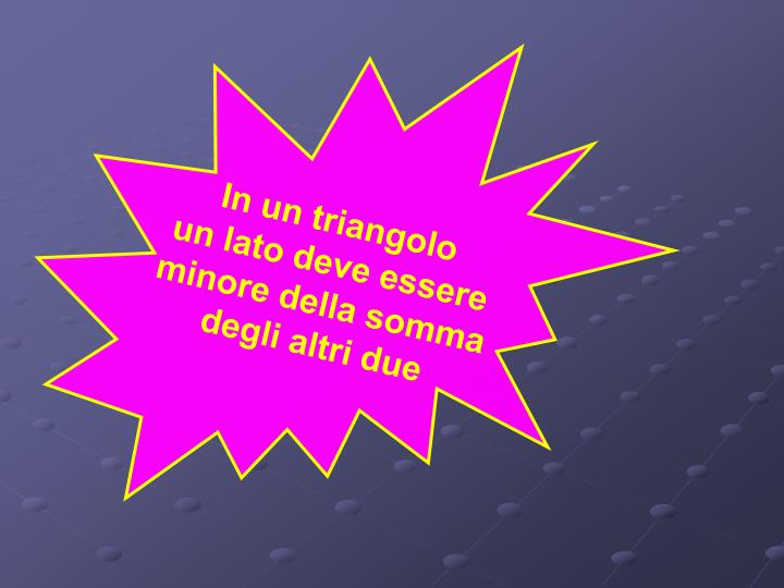 In un triangolo