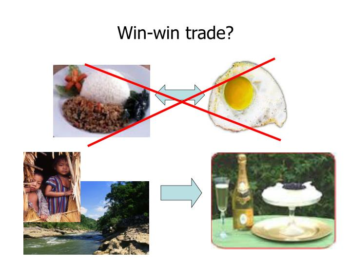 Win-win trade?