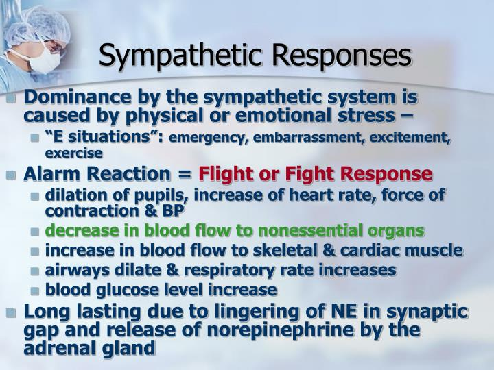 Sympathetic Responses
