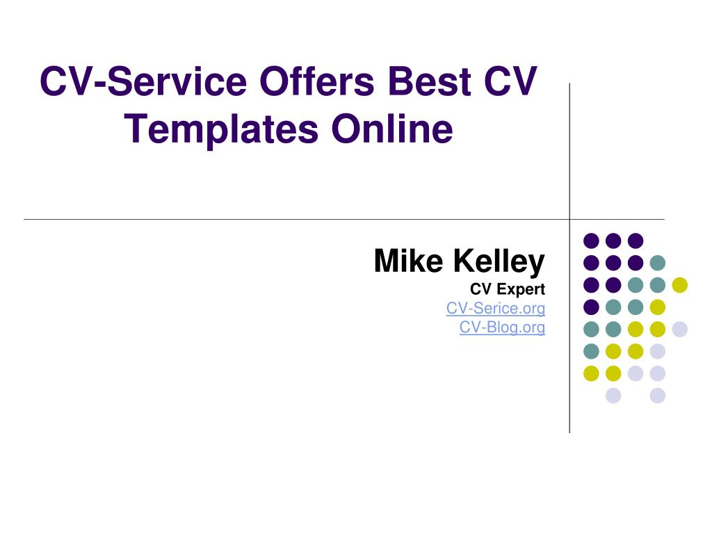 CV-Service Offers Best CV Templates Online