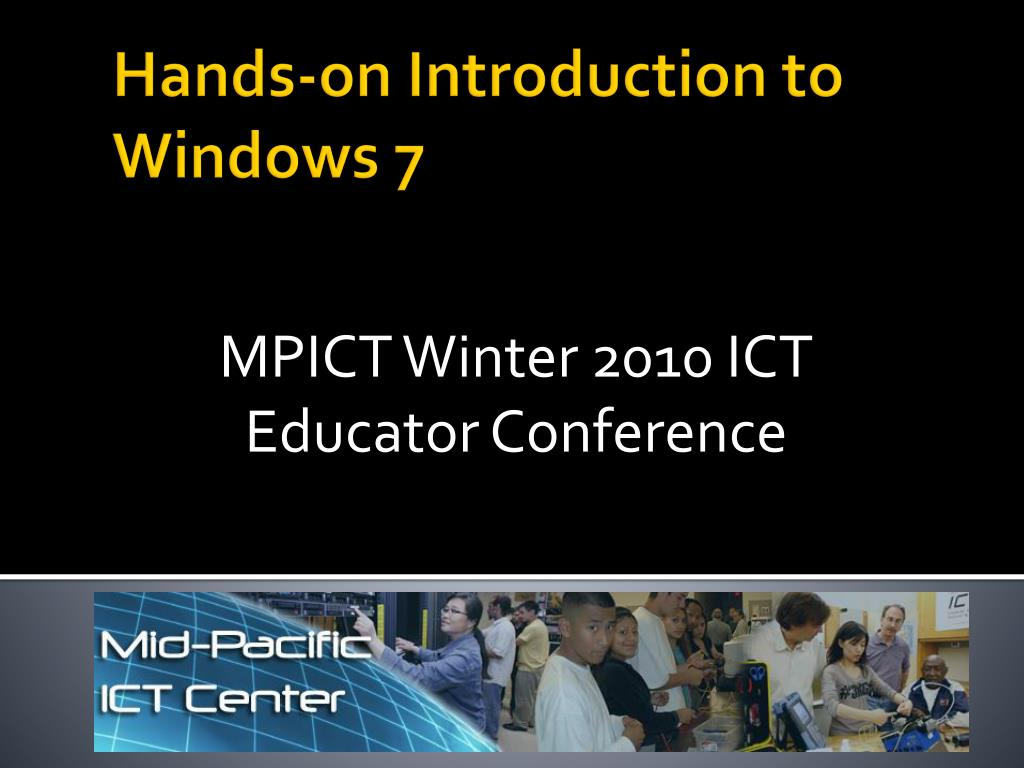 MPICT Winter 2010 ICT Educator Conference