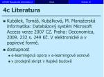 4c literatura