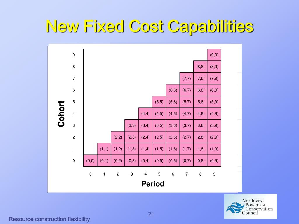 New Fixed Cost Capabilities