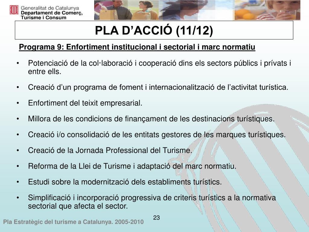 Potenciació de la col·laboració i cooperació dins els sectors públics i prívats i entre ells.