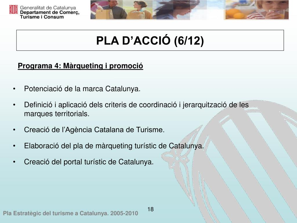 Potenciació de la marca Catalunya.