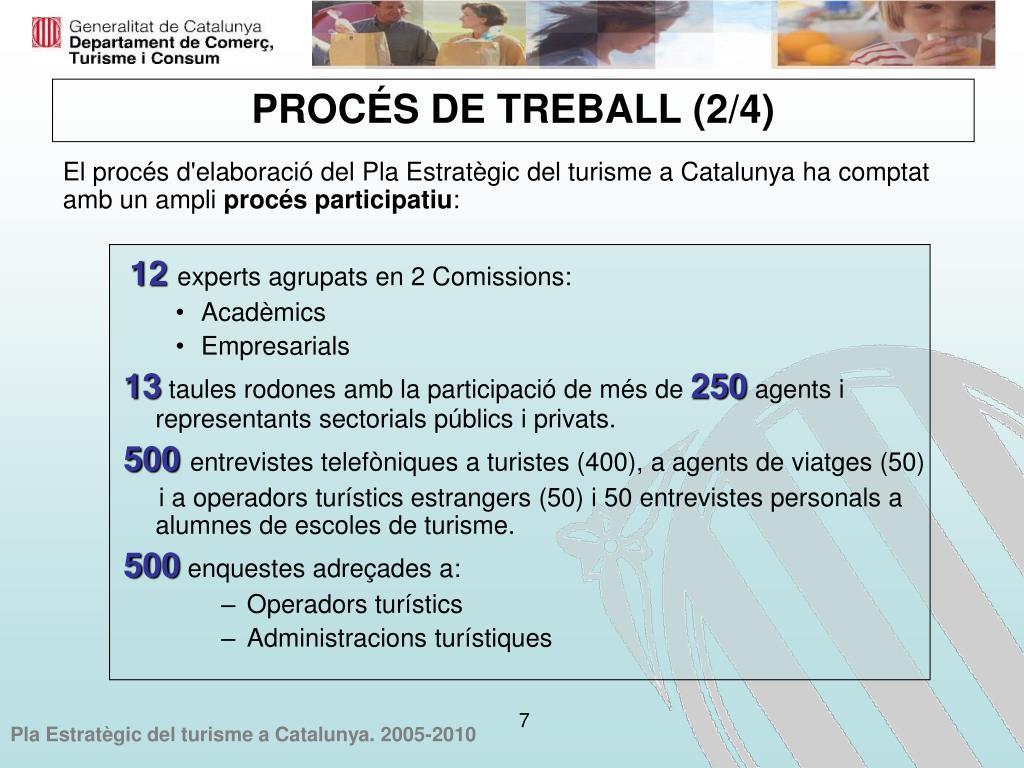 El procés d'elaboració del Pla Estratègic del turisme a Catalunya ha comptat amb un ampli