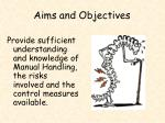 aims and objectives