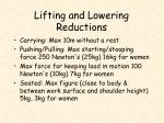 lifting and lowering reductions3