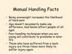 manual handling facts1