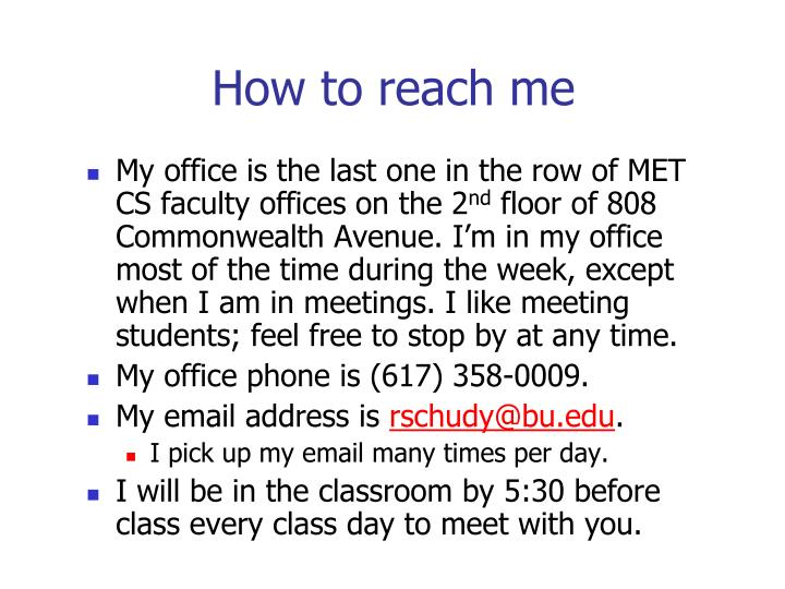 How to reach me l.jpg
