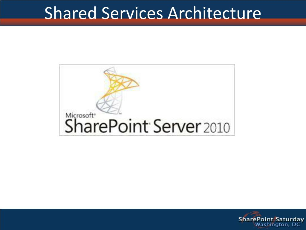 Shared Services Architecture