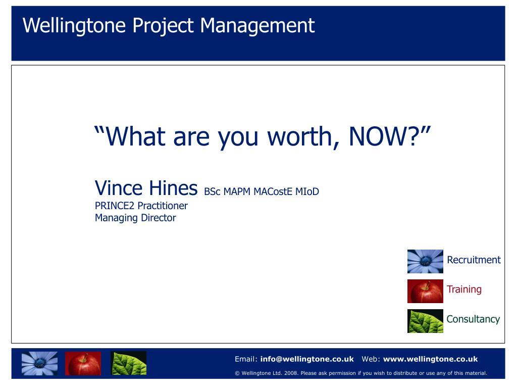 Wellingtone Project Management