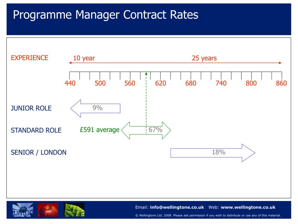 Programme Manager Contract Rates