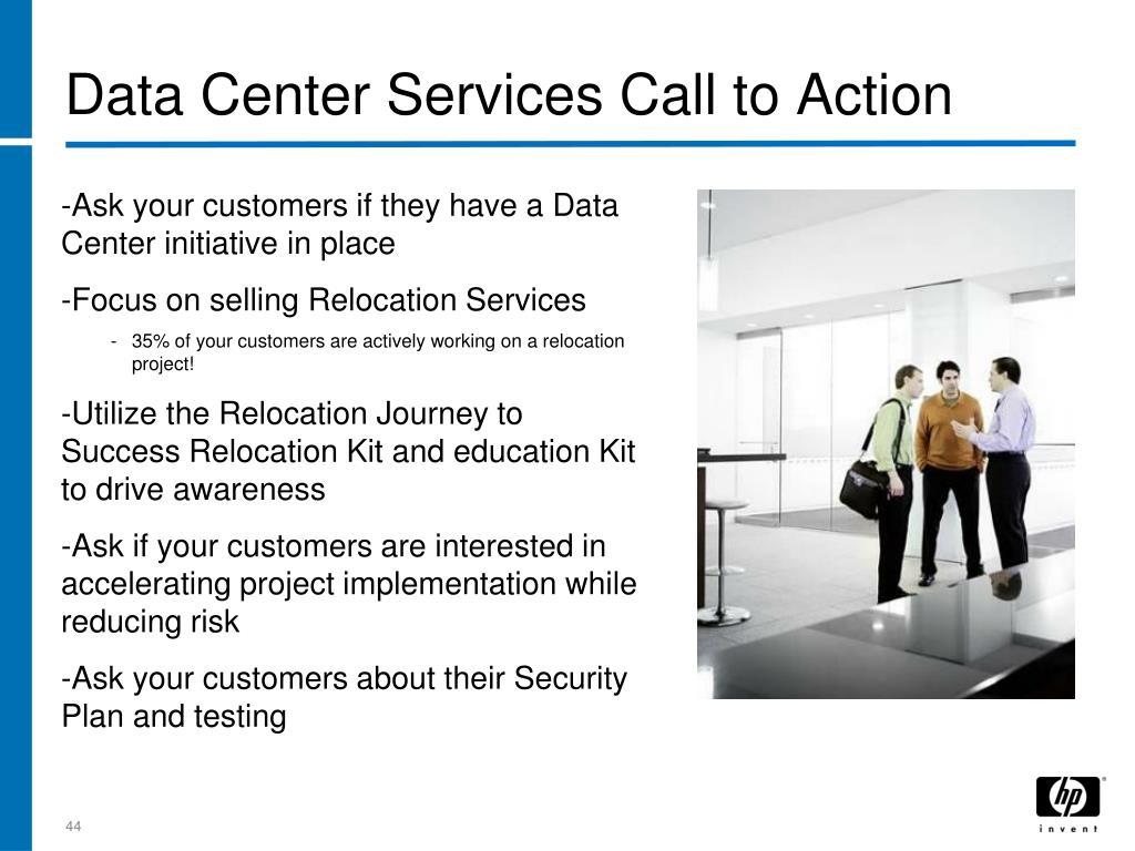 Data Center Services Call to Action