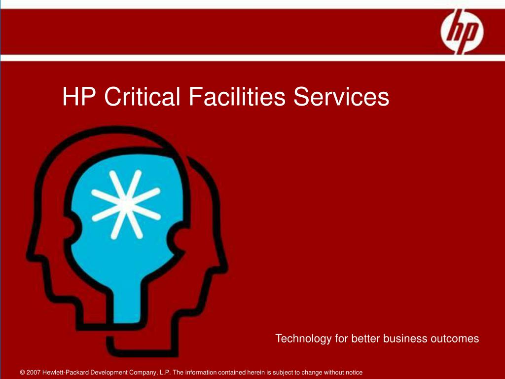 HP Critical Facilities Services