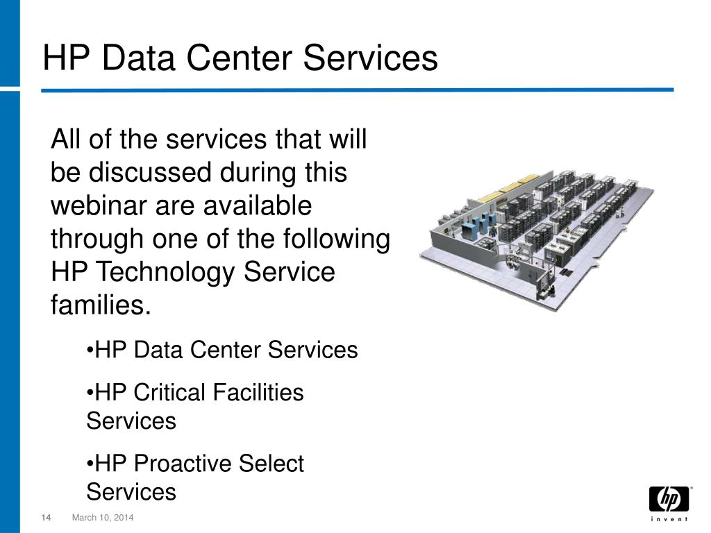 HP Data Center Services