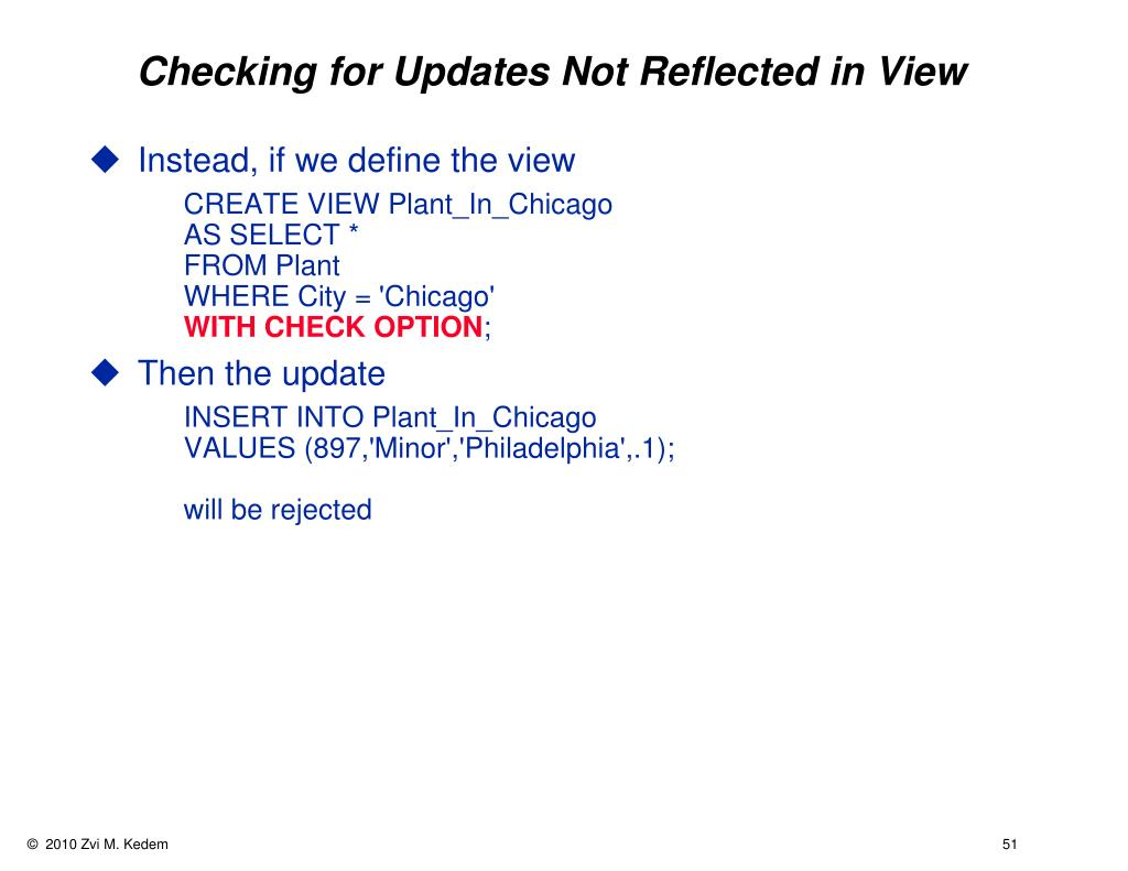 Checking for Updates Not Reflected in View