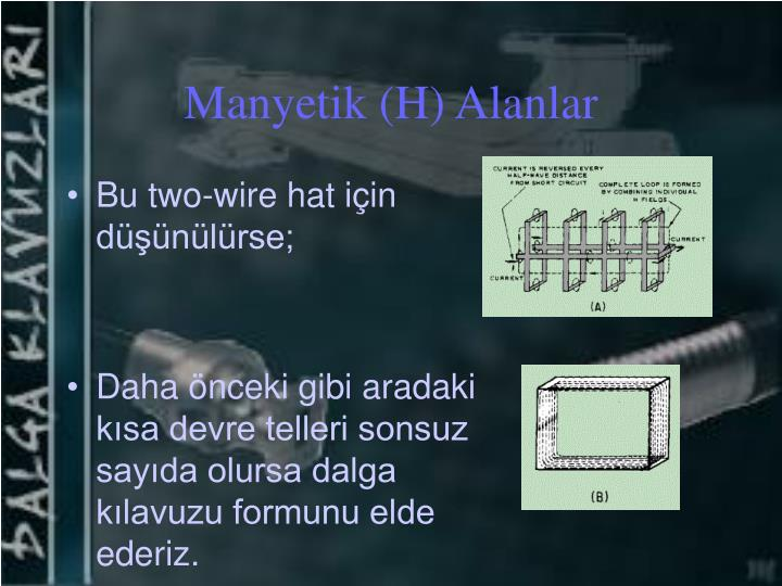Manyetik (H) Alanlar