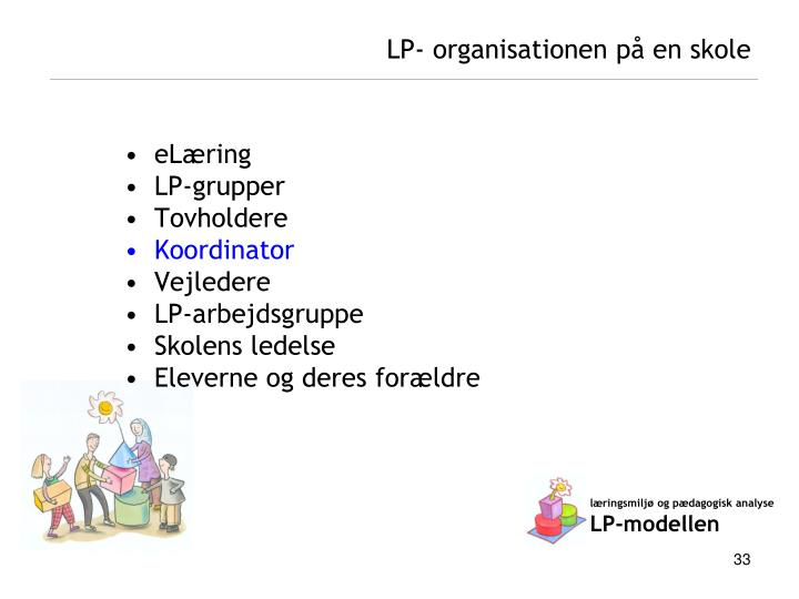 LP- organisationen på en skole