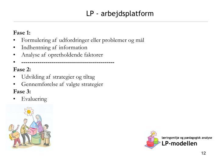 LP - arbejdsplatform