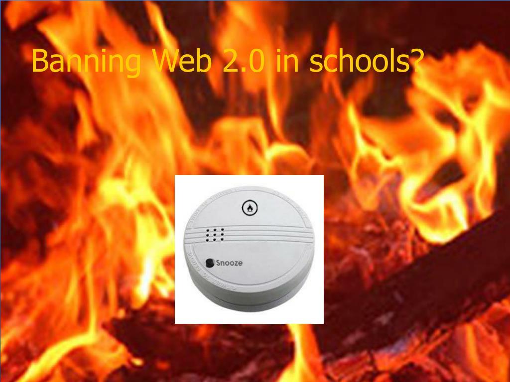 Banning Web 2.0 in schools?