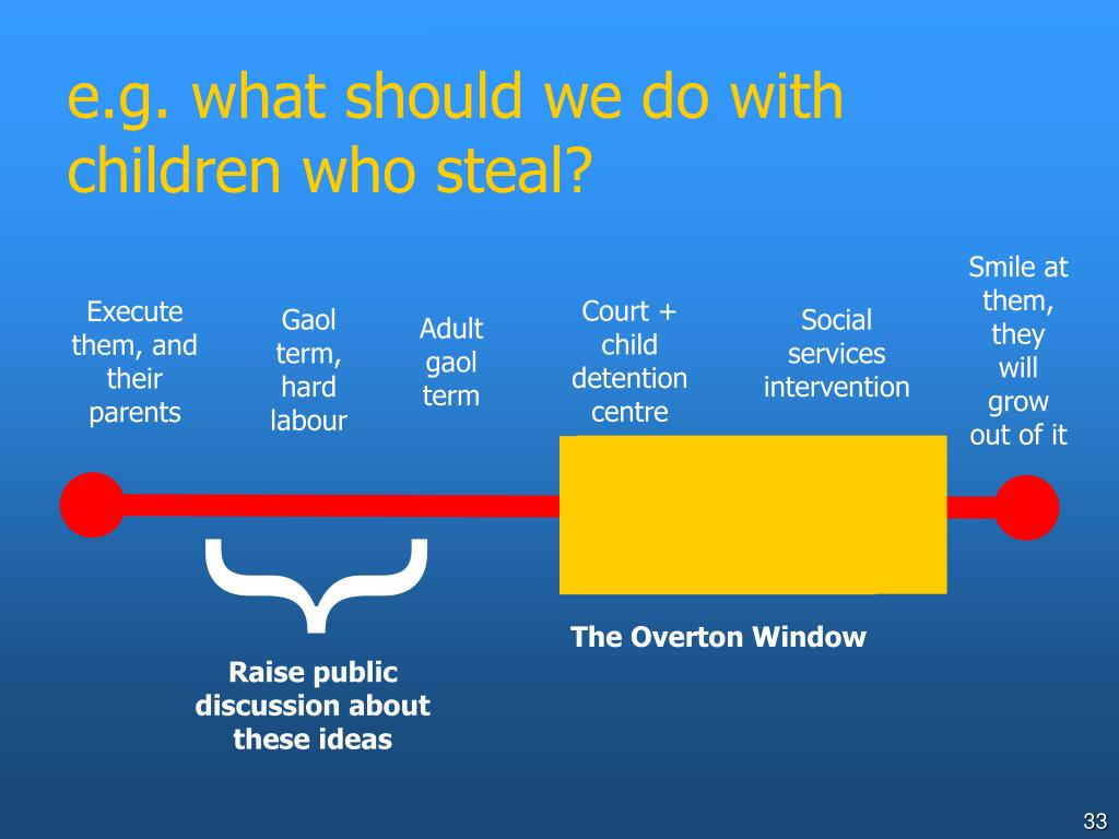 e.g. what should we do with children who steal?