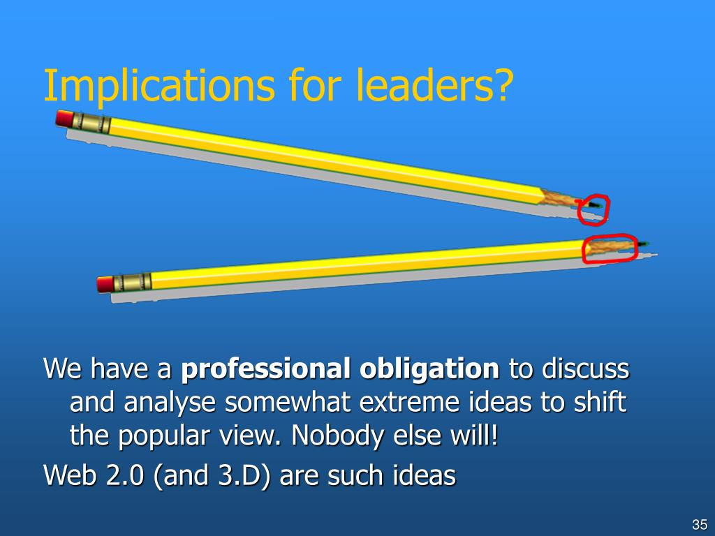Implications for leaders?