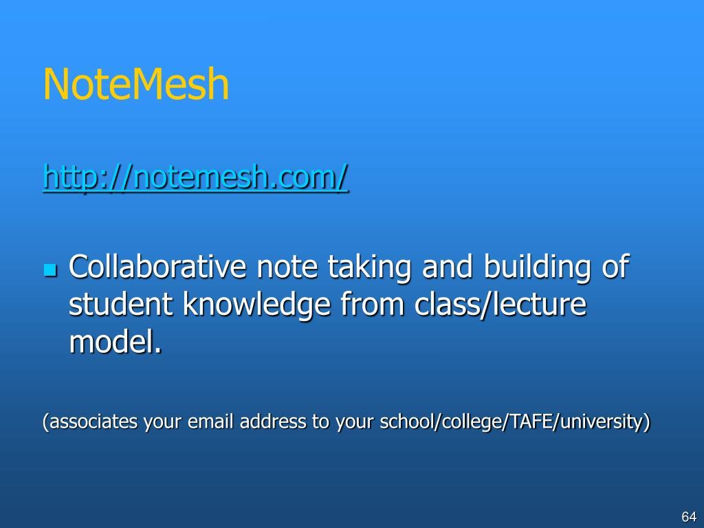 NoteMesh
