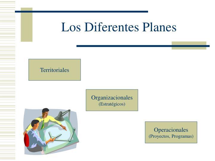 Los Diferentes Planes