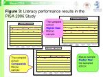 figure 3 literacy performance results in the pisa 2006 study