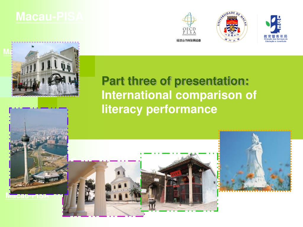 Part three of presentation: