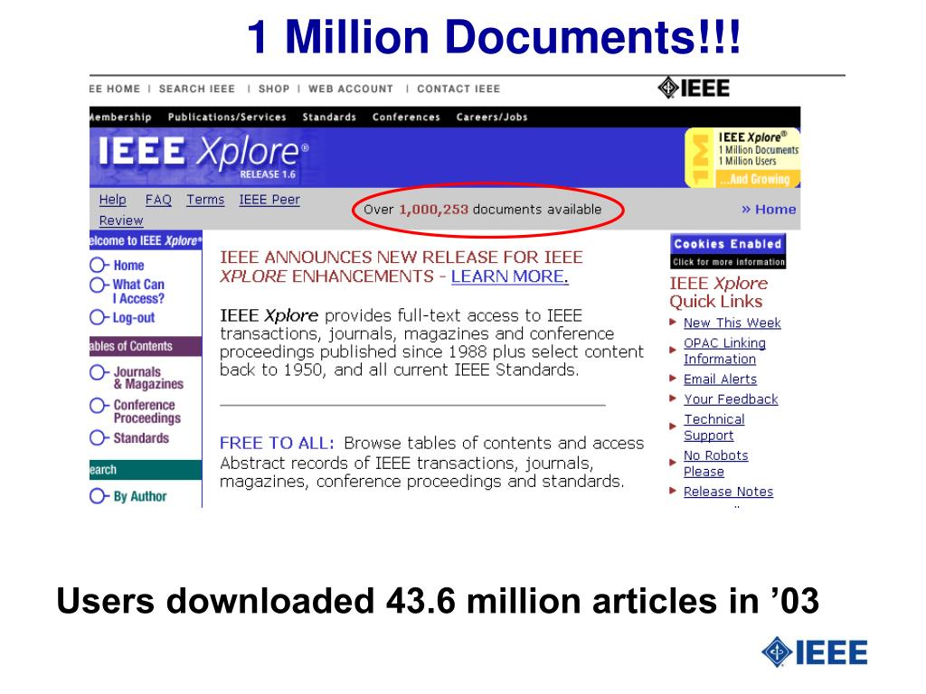 1 Million Documents!!!