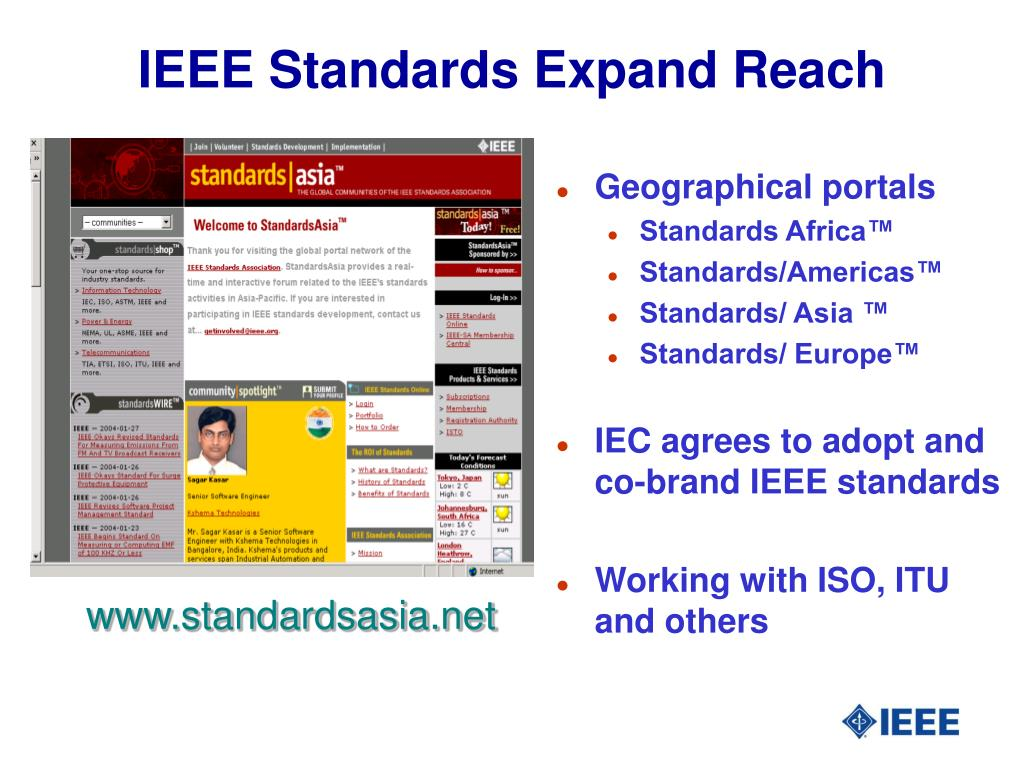 IEEE Standards Expand Reach