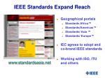 ieee standards expand reach