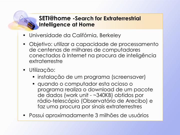 SETI@home -