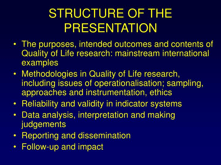 Structure of the presentation l.jpg