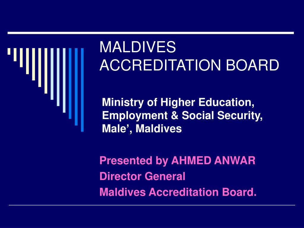 MALDIVES ACCREDITATION BOARD