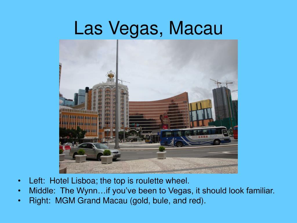 Las Vegas, Macau