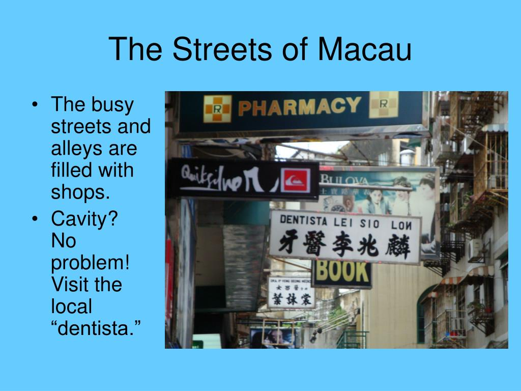 The busy streets and alleys are filled with shops.