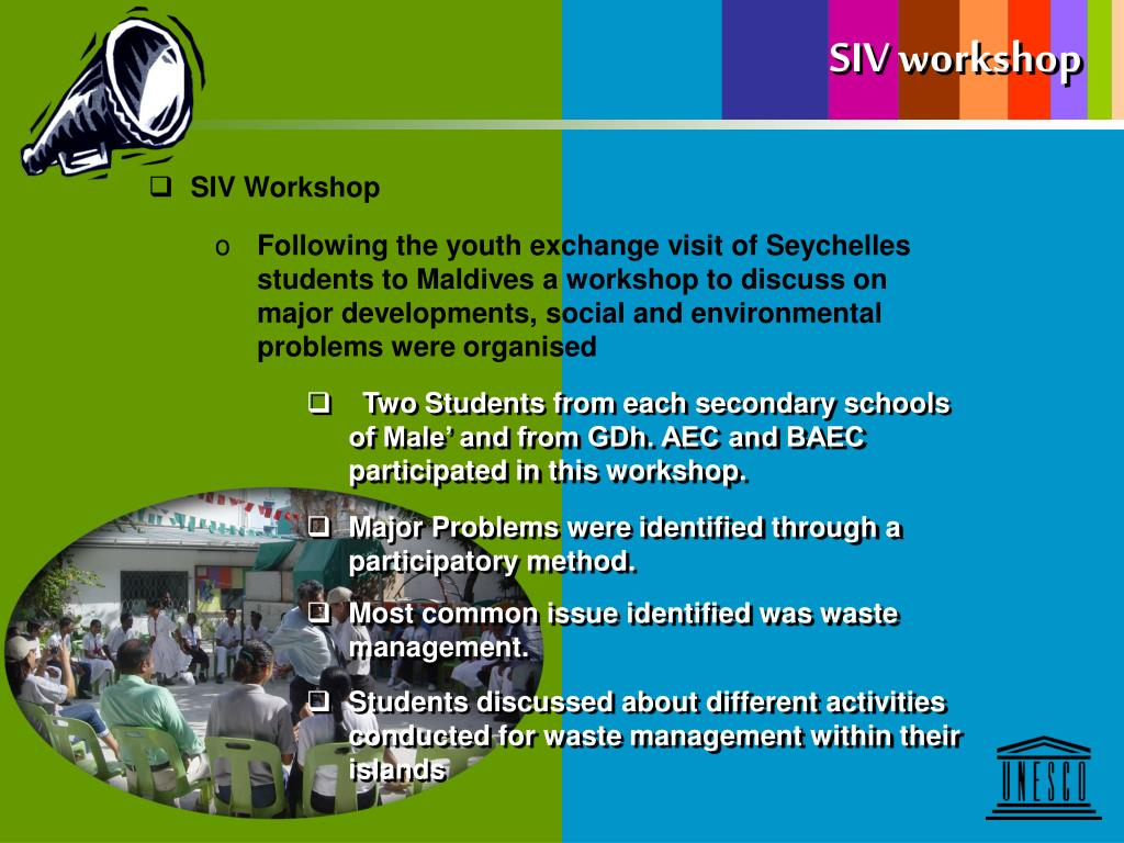 SIV workshop