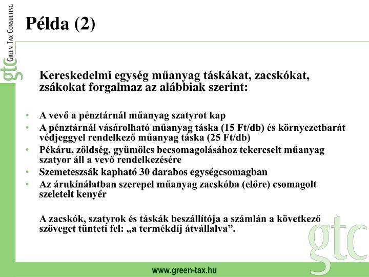 Példa (2)